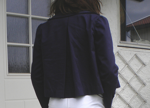 Cropped Burda Jacket