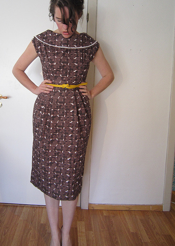 Simplicity 1995 dress