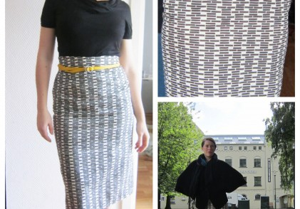 FO: Fairtrade pencil skirt.
