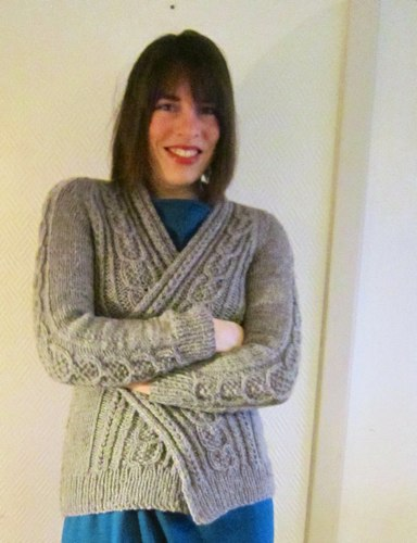 aidez knit cardigan