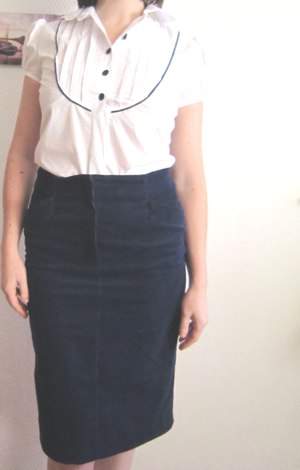 Burda skirt and blouse