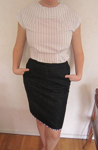 Patrones skirt