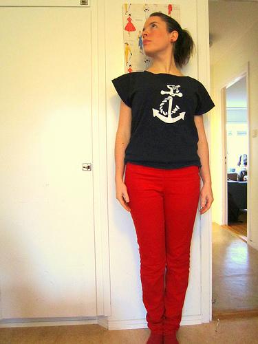 le pantalon rouge