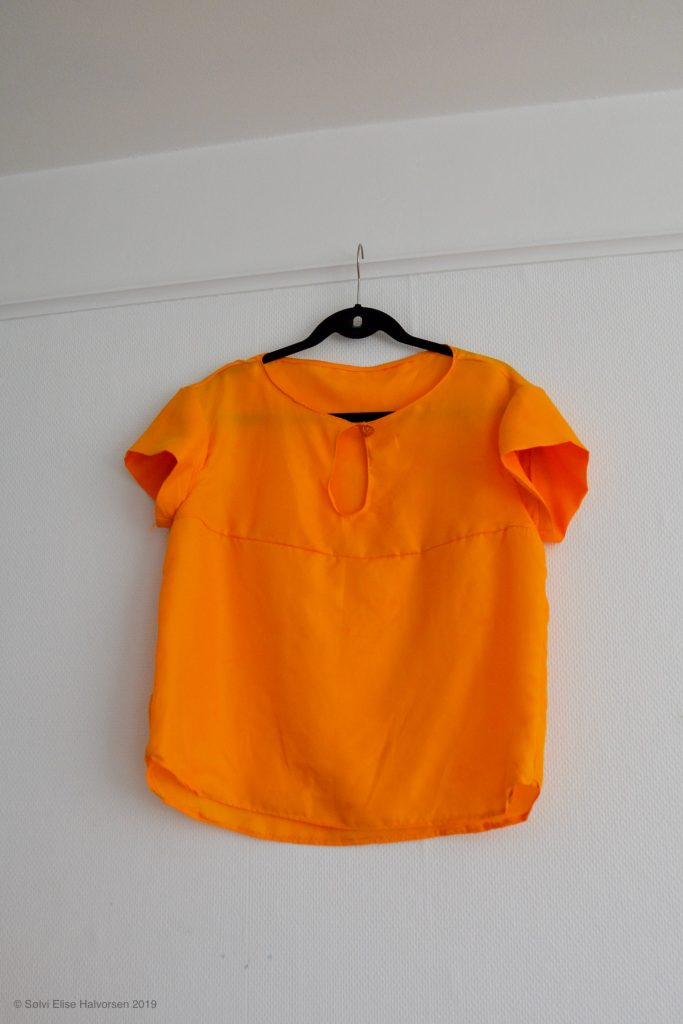 Blouse pattern by BurdaStyle, made by delfinelise