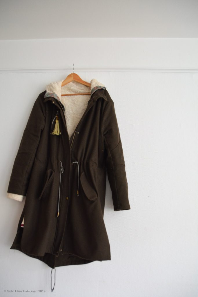 Parka pattern by burdastyle, made by delfinelis