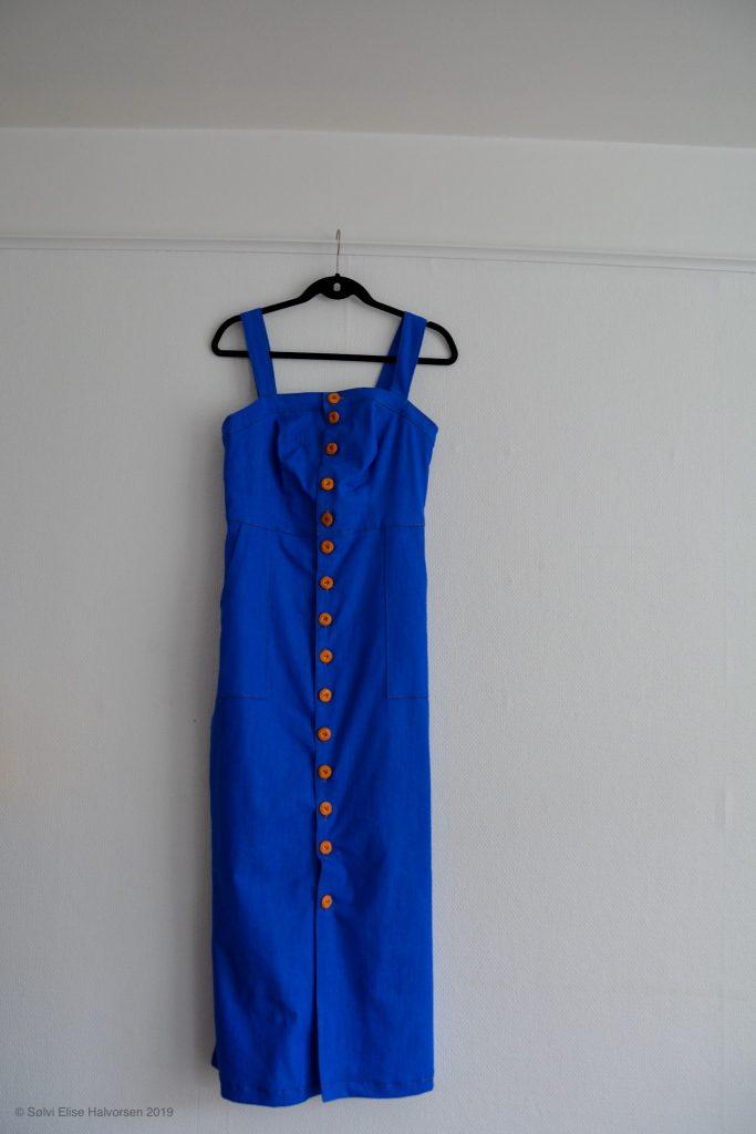 Fiona sundress closet case patterns, made by delfinelise